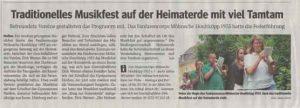 2016-06-13 Traditionelles Musikfest auf der Heimaterde