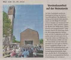2016-08-30 Vereinsbaumfest auf der Heimaterde