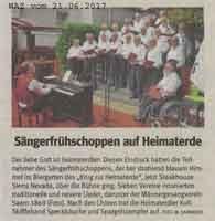 2017-06-21 Sängerfrühschoppen